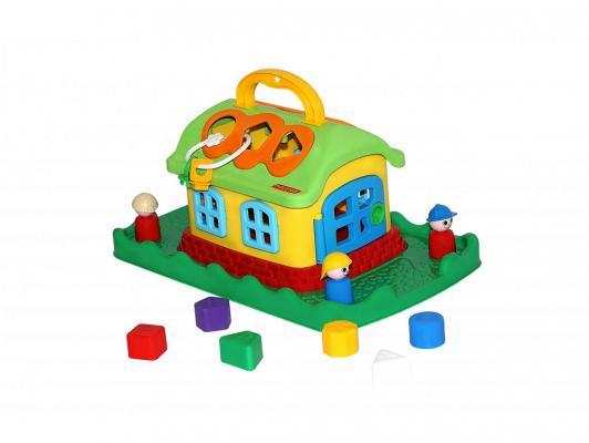 Сортер Полесье Сказочный домик на лужайке (в сеточке) 48752 сортеры полесье сказочный домик на колёсиках