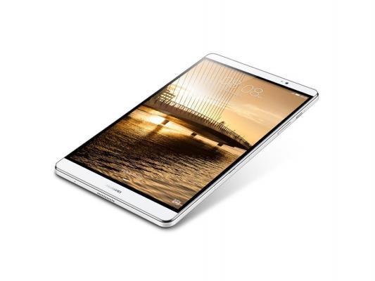 "Планшет Huawei MediaPad M2 8.0 LTE 8"" 16Gb белый серебристый Wi-Fi 3G Bluetooth LTE Android M2-801L"