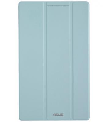 Чехол ASUS для планшетов ZenPad 8 PAD-14 полиуретан/поликарбонат голубой 90XB015P-BSL330
