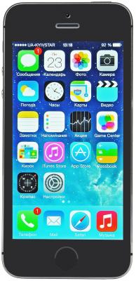 "Смартфон Apple iPhone 5S ""Как новый"" серый 4"" 16 Гб LTE Wi-Fi GPS FF352RU/A ""как новый"""