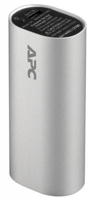 Портативное зарядное устройство APC Mobile Power Pack 3000mAh Li-polymer 1А серебристый M3SR-EC