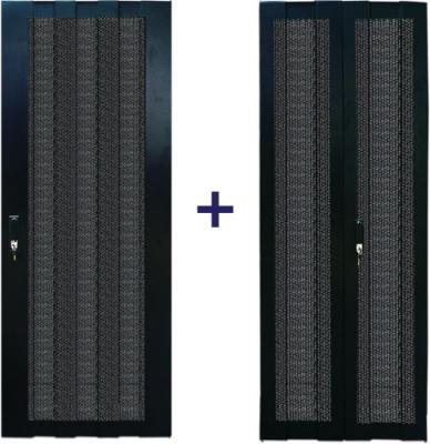 все цены на Комплект дверей Lanmaster TWT-CBB-DR42-8X-S-P1 42U 800мм черный онлайн
