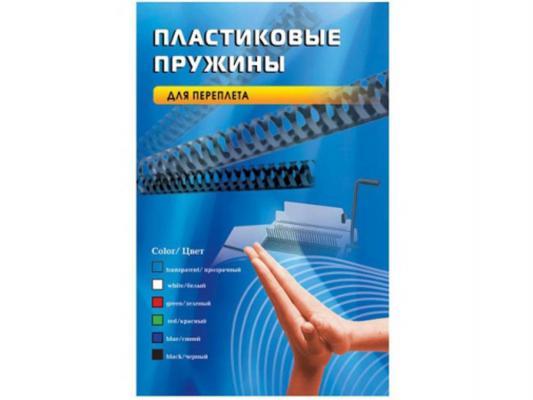 Пружина пластиковая Office Kit BP2060 19мм черный 100шт