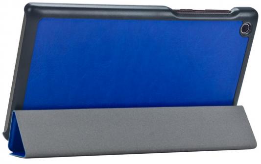 "все цены на Чехол IT BAGGAGE для планшета Lenovo Tab 2 A7-30HC 7"" ультратонкий искуственная кожа синий ITLNA7302-4 онлайн"