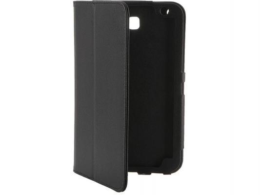 """Чехол IT BAGGAGE для планшета Huawei Media Pad T1 7"""" искусственная кожа черный ITHWT1702-1"""