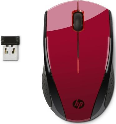 Мышь беспроводная HP X3000 N4G65AA красный USB