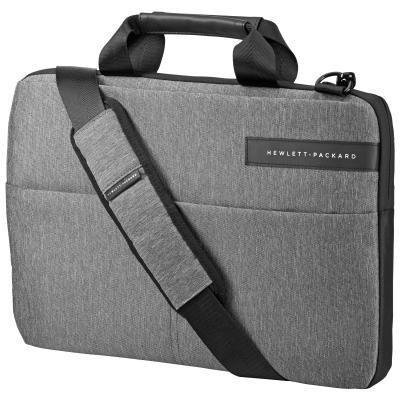 Сумка для ноутбука 14 HP L6V67AA синтетика черный серый