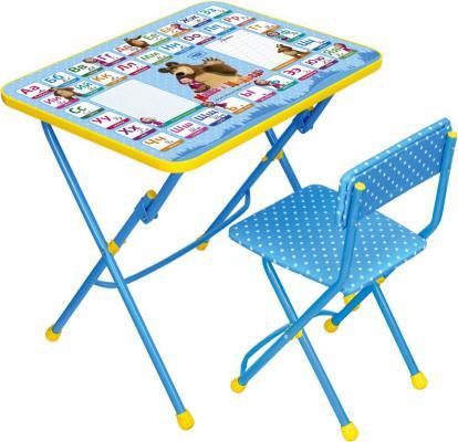 Набор мебели Маша и медведь Азбука 2 Ника КУ1/2 (СУ1-6) столы и стулья ника набор мебели маша и медведь стол парта мягкий стул