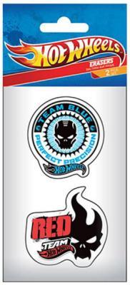 Набор ластиков Hot Wheels (Mattel) HWAB-US1-213-H2 2 шт фигурный академия групп линейка 15 см hot wheels 2 шт