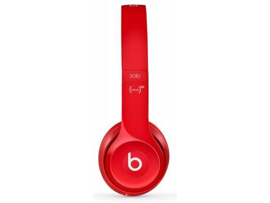 Наушники Apple Beats Solo 2 WL красный MH8Y2ZM/A аудио наушники beats гарнитура beats solo 2 luxe edition ml9g2ze a накладные красный проводные