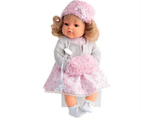 Кукла Munecas Antonio Juan Белла плачущая 42 см мягкая 1669W кукла antonio juan белла pink 1669p