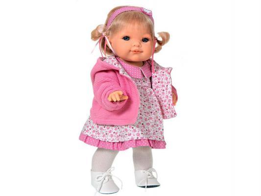 Кукла Munecas Antonio Juan Эвита в розовом 38 см 2248Р