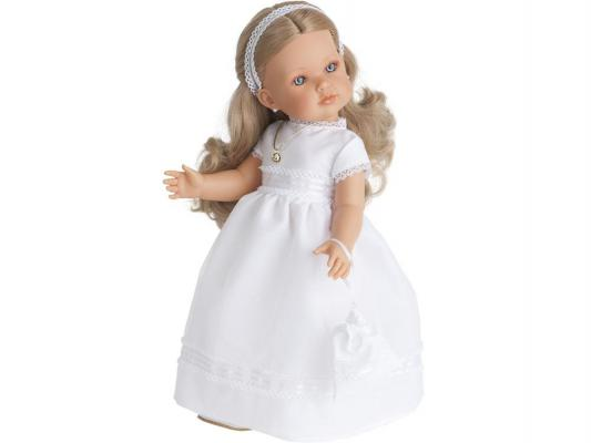 Кукла Munecas Antonio Juan Белла Первое причастие блондинка 45 см 2801Bl munecas antonio juan munecas antonio juan кукла аделина блондинка 55 см