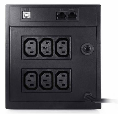 Источник бесперебойного питания Powercom Raptor RPT-1025AP 1025VA Черный источник бесперебойного питания powercom raptor rpt 1025ap 1025вa
