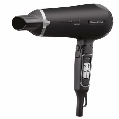 Фен Rowenta CV 4750 чёрный серый фен rowenta cv4750 2200вт черный и серый