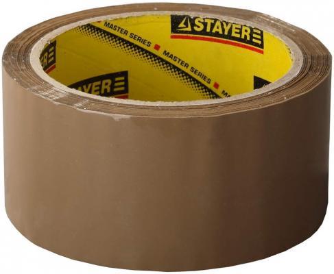 Лента Stayer MASTER клеящая 48мм х 60м 1207-50 лента stayer master клейкая прозрачная 48ммх60м 1204 50