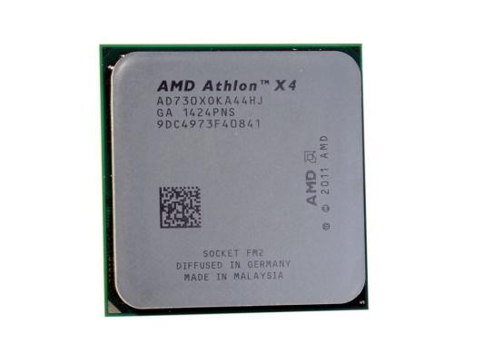 Процессор AMD Athlon II X4 730 2.8GHz 4Mb Socket FM2 OEM amd 4200 4400 4800 5000 5200 amd athlon ii x 2 250