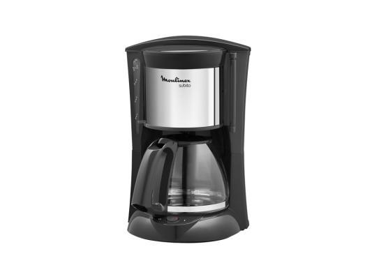 Кофеварка Moulinex FG360830 капельная 1000Вт 1.25л черный