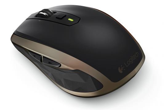 Мышь беспроводная Logitech MX Anywhere 2 чёрный USB + Bluetooth 910-004374