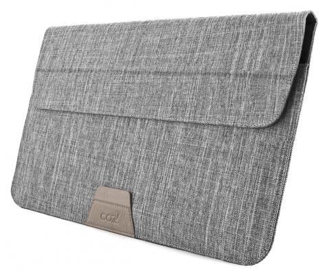 Чехол для ноутбука 13 Cozi Stand Sleeve Compatibility серый CPSS1304 14 чехол для ноутбука hp chroma sleeve серый зеленый