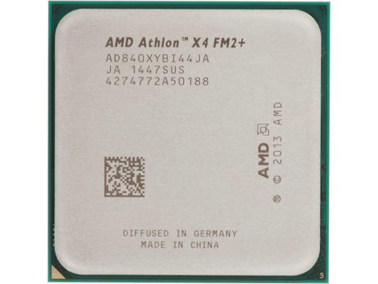 Процессор AMD Athlon X4 840 AD840XYBJABOX Socket FM2+ BOX процессор amd a8 7500 3 0ghz 2mb ad7500ybi44ja socket fm2 oem