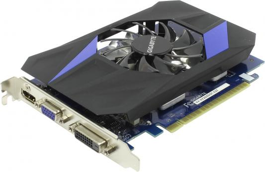 Видеокарта 1024Mb Gigabyte GT730 PCI-E GDDR5 64bit HDMI DVI HDCP GV-N730D5OC-1GI Retail