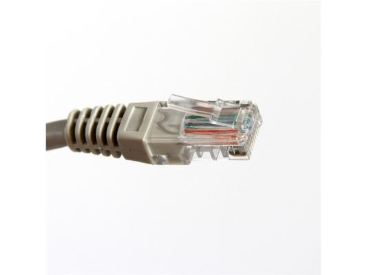 Патч-корд 5E категории Aopen ANP511_1.5M UTP 1.5м серый