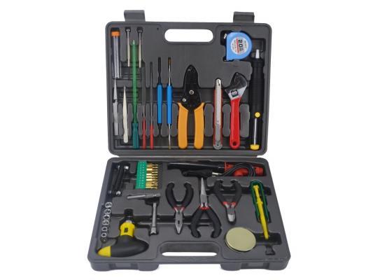 Набор инструментов Gembird TK-PRO-01 48 предметов  набор инструментов gembird cablexpert tk home 01 24 предмета