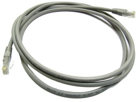 Патч-корд 5E категории Aopen ANP511_5M UTP 5.0м серый
