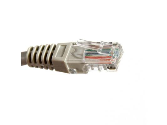 Патч-корд UTP 5e категории 3м серый CCA PVC Aopen ANP511 сетевой кабель aopen utp cat 5e anp511 0 5m grey anp511 0 5m