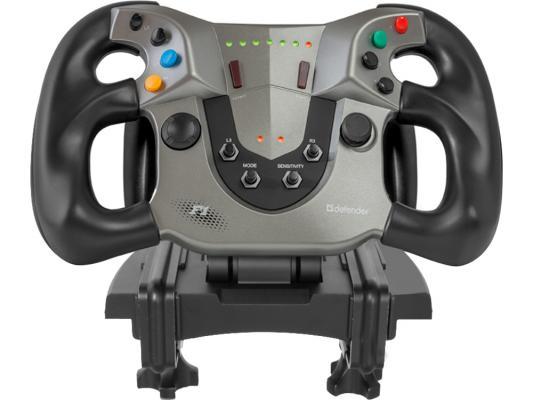 Руль Defender Forsage Sport USB-PS3 64372 руль проводной defender forsage sport 64372