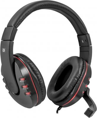 Гарнитура Defender Warhead G-160 черный 64113 headphone defender warhead g 110