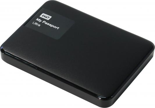 Внешний жесткий диск 2.5 USB3.0 1 Tb Western Digital My Passport Ultra WDBDDE0010BBK-EEUE черный