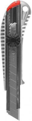 Нож ЗУБР MASTER с сегментированным лезвием пластмасс 18мм 09172 нож зубр 09172 мастер