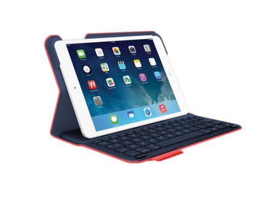 Клавиатура беспроводная Logitech Wireless Keyboard Folio TYPE для iPad Air красный 920-006568