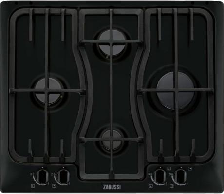 Варочная панель газовая Zanussi ZGX566414B черный