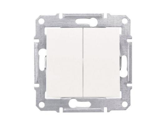 Выключатель Schneider Electric 2-клавишный белый SDN0300121