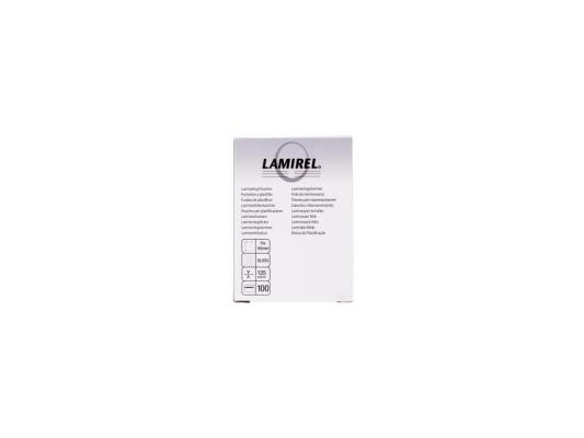Пленка для ламинирования Fellowes Lamirel CRC-78663 125мкм 100шт 75x105