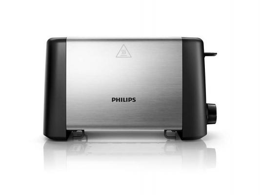 лучшая цена Тостер Philips HD4825/90 серебристый
