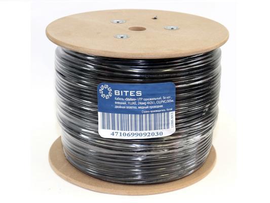 Кабель UTP outdoor 4 пары категория 5e 5bites US5505-305CE одножильный PE PVC 305м цена и фото