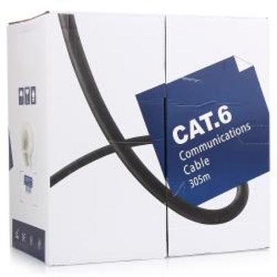Кабель UTP indoor 4 пары категория 6 5bites US6400-305A одножильный CCA PVC 305m