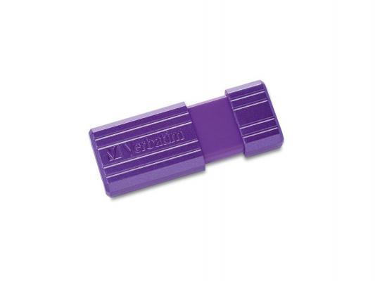 Флешка USB 16Gb Verbatim PinStripe 49058 USB2.0 фиолетовый