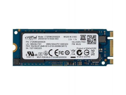 Crucial CT250MX200SSD6