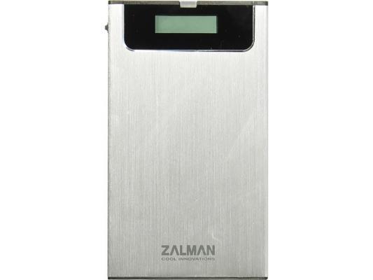 "Внешний контейнер для HDD 2.5"" SATA ZALMAN ZM-VE350 USB3.0 серебристый"