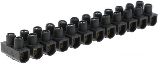 Блок клеммников Legrand 6мм2 черный 34213