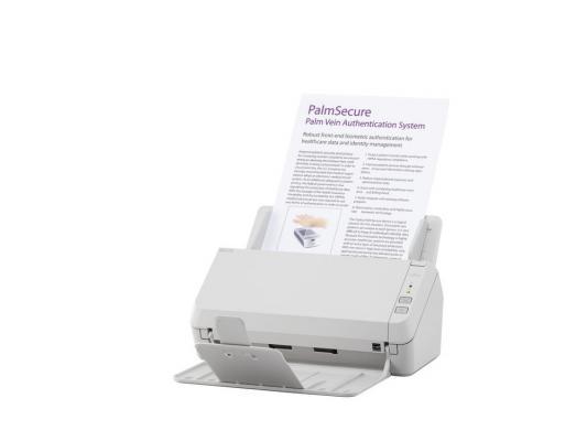 Сканер Fujitsu ScanPartner SP-1120 протяжный А4 600x600 dpi CIS 20ppm USB белый PA03708-B001