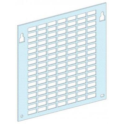 Перфорированная плата Schneider Electric 4 модуля 3170 шкаф электрический напольный schneider electric 600мм 33 модуля 8204