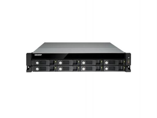 "Сетевое хранилище QNAP TS-853U Celeron 2.ГГц 8x3.5/2.5""HDD hot swap RAID 0/1/5/6/10 2xGbLAN 5xUSB 1xHDMI Rack Mount"