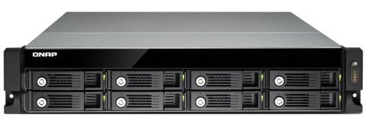"Сетевое хранилище QNAP TS-853U-RP Celeron 2.ГГц 8x3.5/2.5""HDD hot swap RAID 0/1/5/6/10 2xGbLAN 5xUSB 1xHDMI Rack Mount"