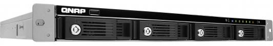 "Сетевое хранилище QNAP TS-453U-RP Celeron 2.ГГц 4x3.5/2.5""HDD hot swap RAID 0/1/5/6/10 4xGbLAN 5xUSB 1xHDMI Rack Mount"